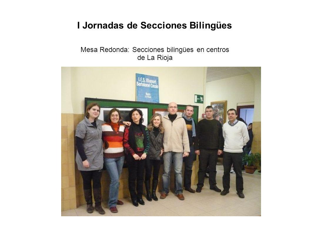 Mesa Redonda: Secciones bilingües en centros