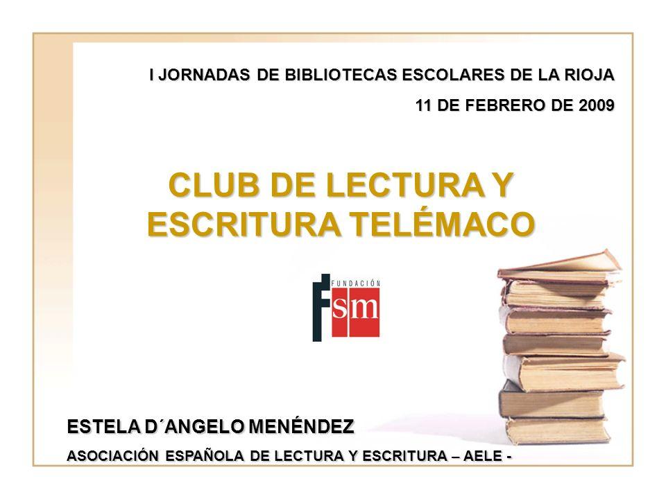 CLUB DE LECTURA Y ESCRITURA TELÉMACO