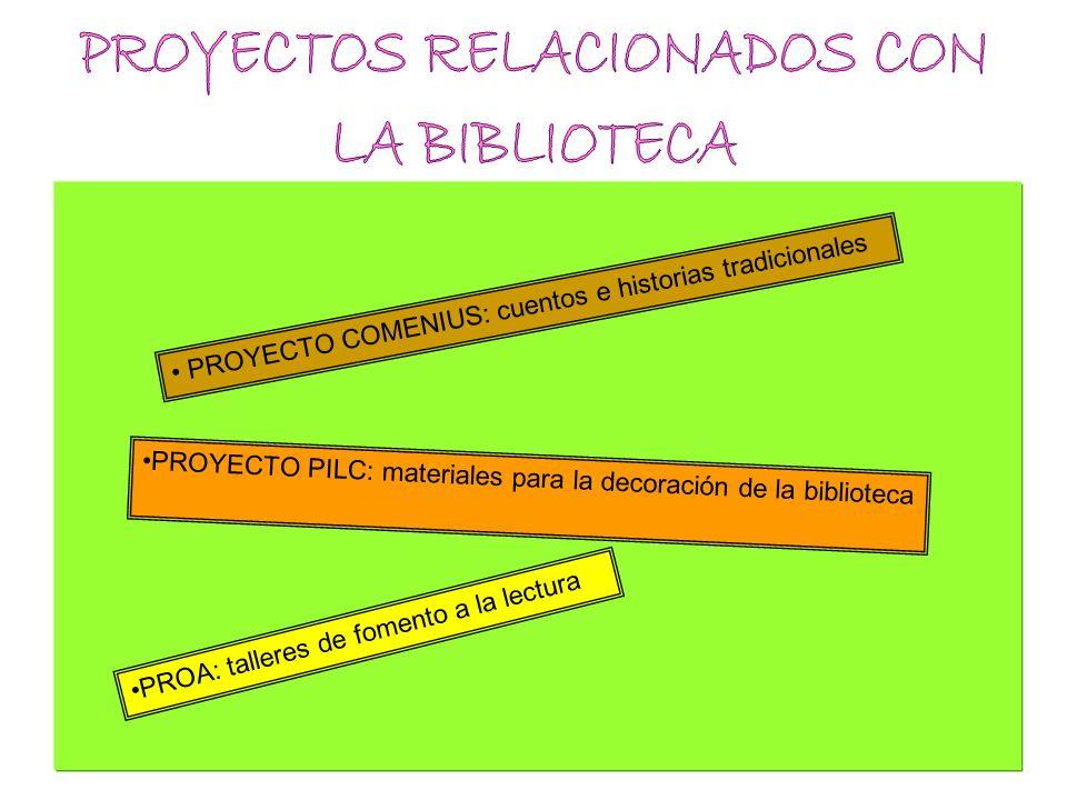 PROYECTOS RELACIONADOS CON