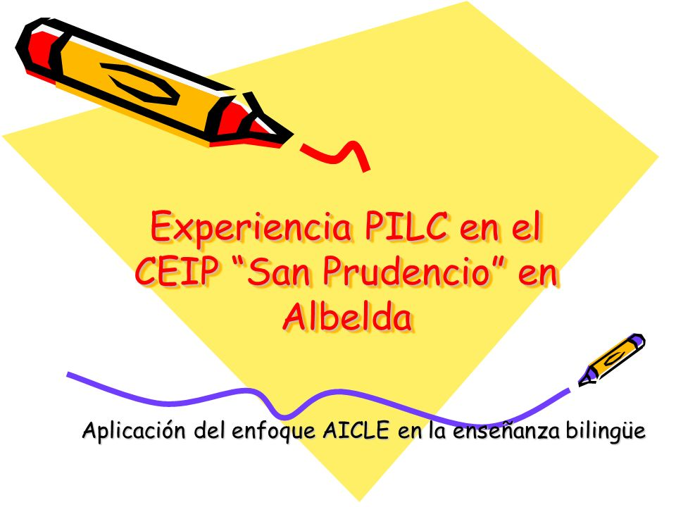 Experiencia PILC en el CEIP San Prudencio en Albelda