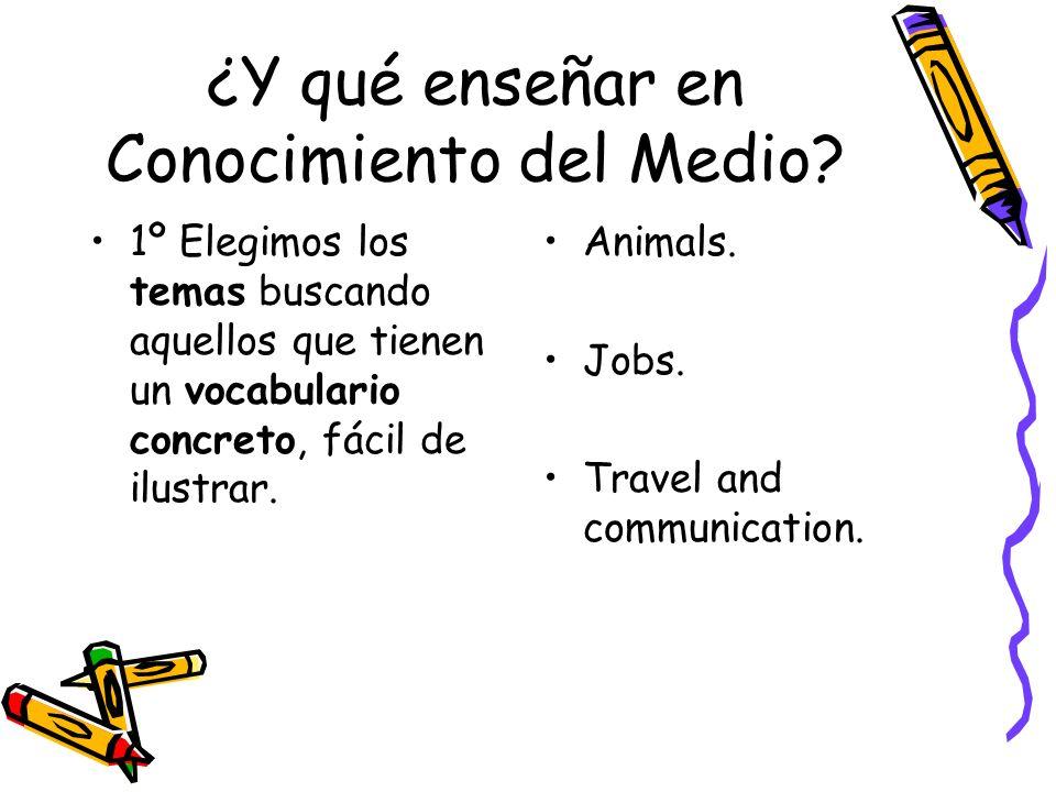 ¿Y qué enseñar en Conocimiento del Medio