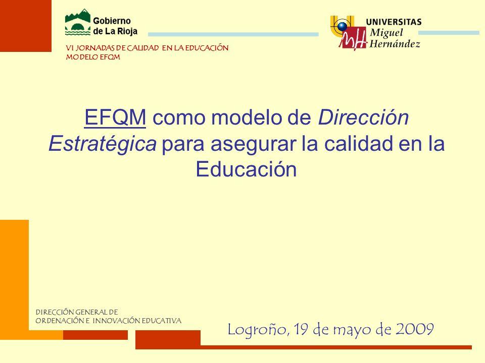 VI JORNADAS DE CALIDAD EN LA EDUCACIÓN