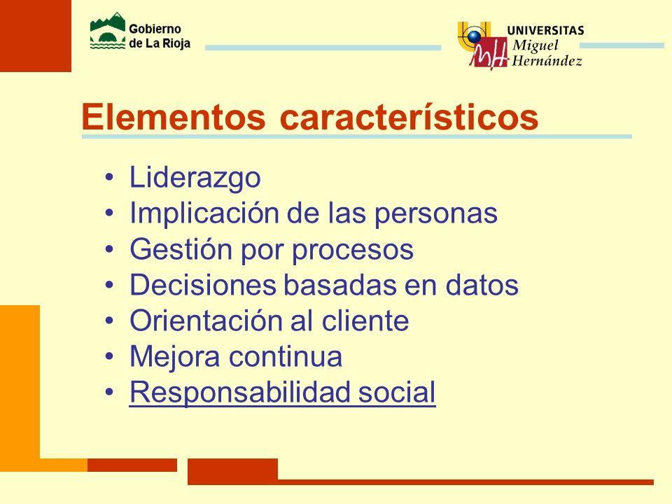 Elementos característicos