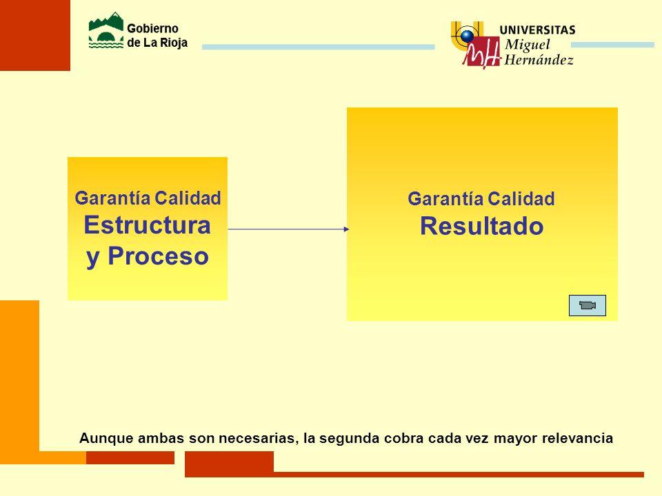 Resultado Estructura y Proceso