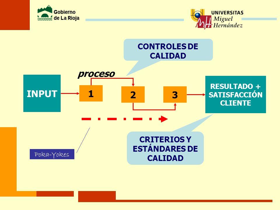 CRITERIOS Y ESTÁNDARES DE CALIDAD