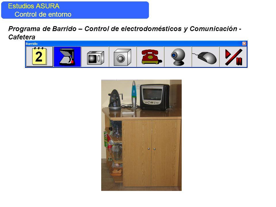 Estudios ASURA Estudios ASURA. Control del entorno. Control de entorno.