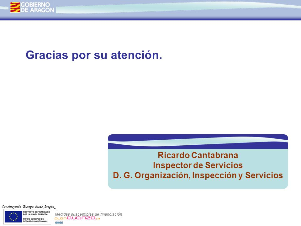 Inspector de Servicios D. G. Organización, Inspección y Servicios