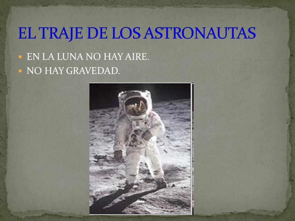 EL TRAJE DE LOS ASTRONAUTAS