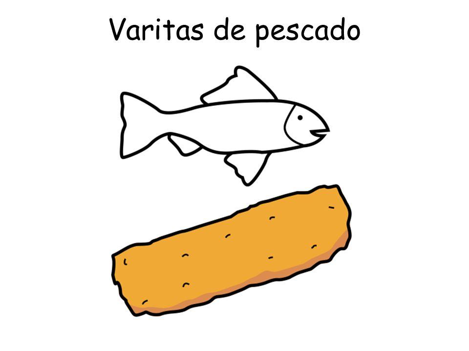 Varitas de pescado