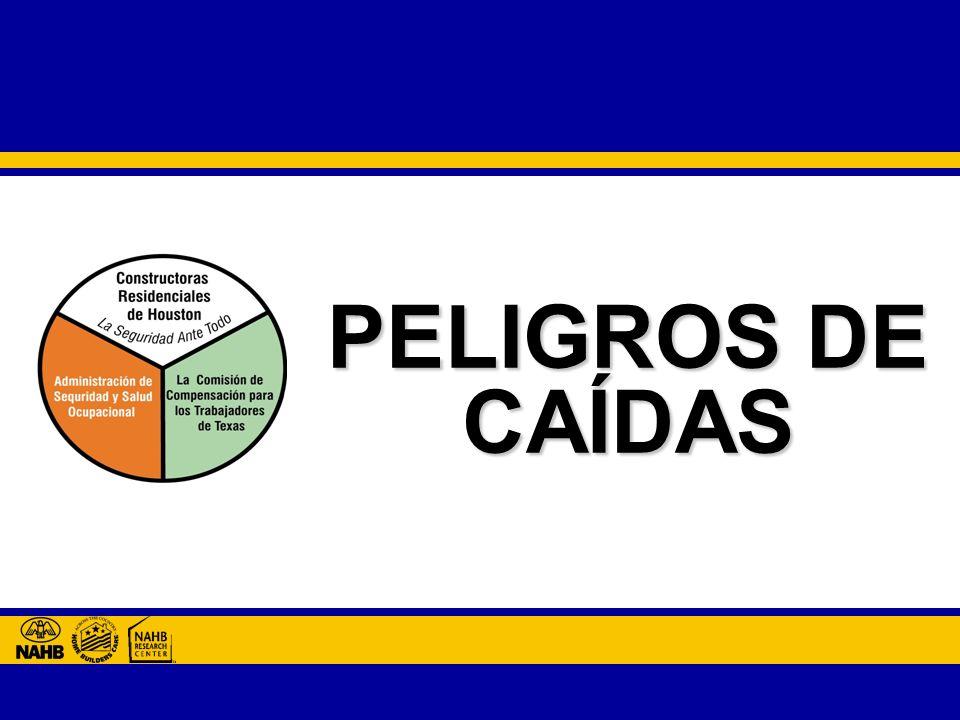 PELIGROS DE CAÍDAS