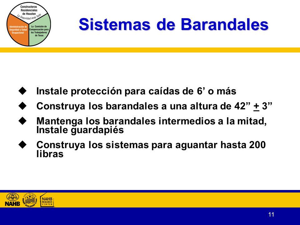 Sistemas de Barandales