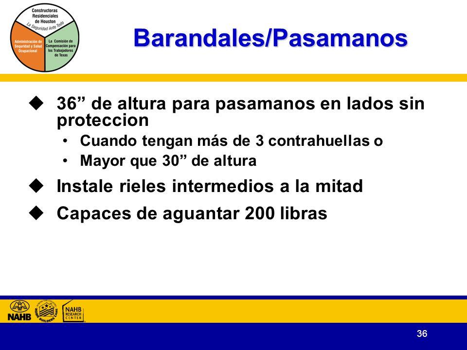 Barandales/Pasamanos