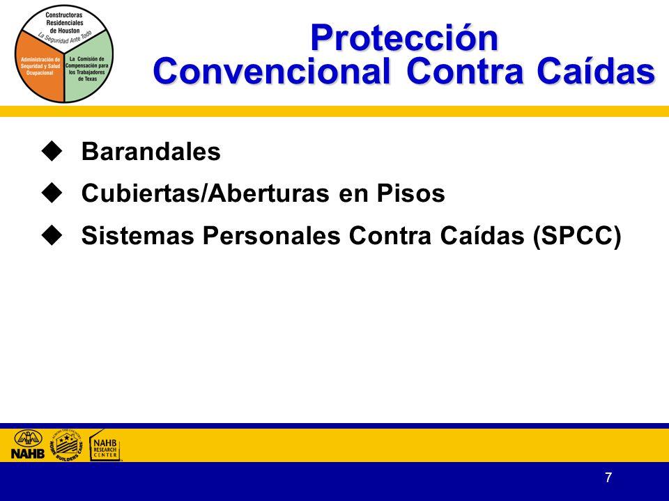 Protección Convencional Contra Caídas