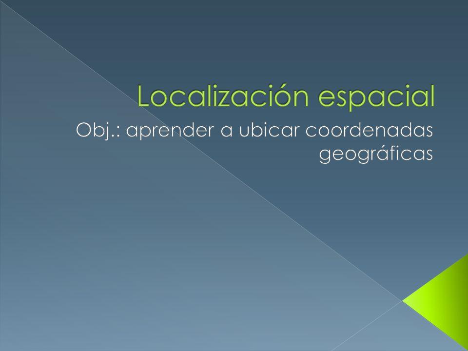 Localización espacial
