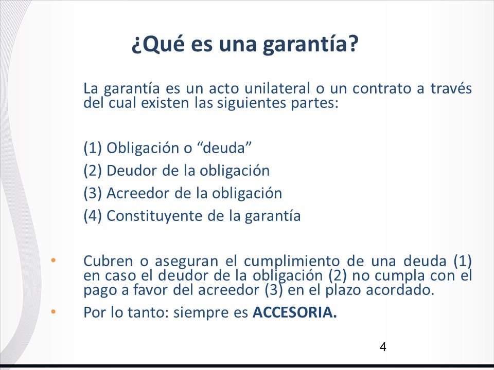 garantias ppt video online descargar