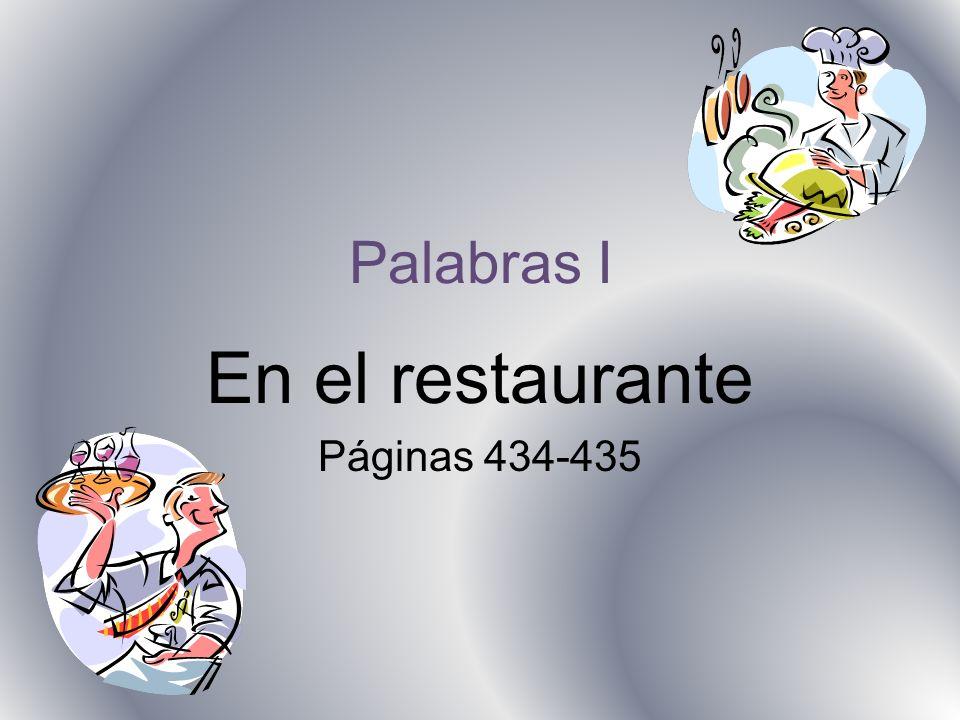 En el restaurante Páginas 434-435