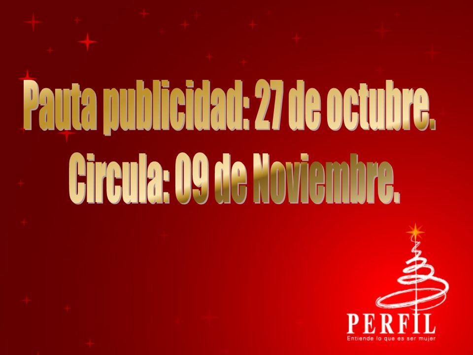 Pauta publicidad: 27 de octubre.