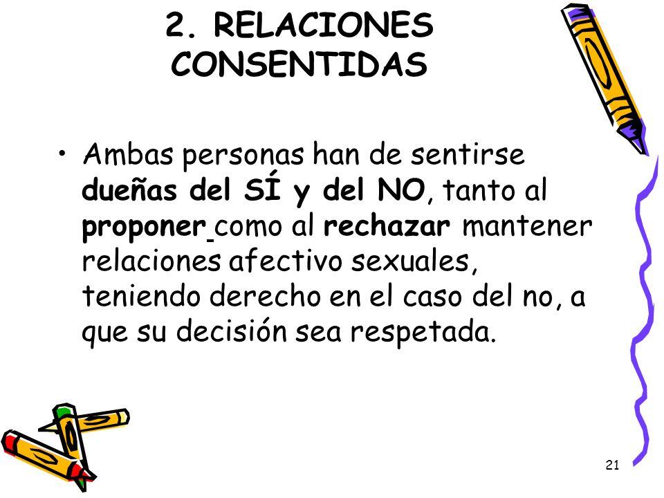 2. RELACIONES CONSENTIDAS