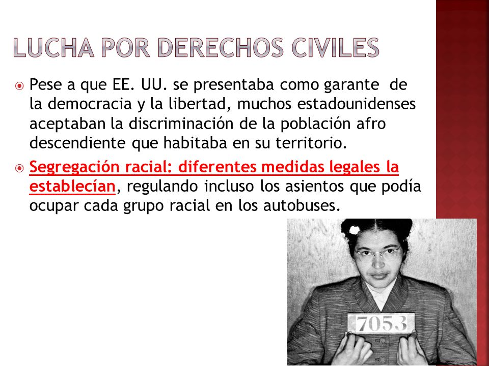 Lucha por derechos civiles