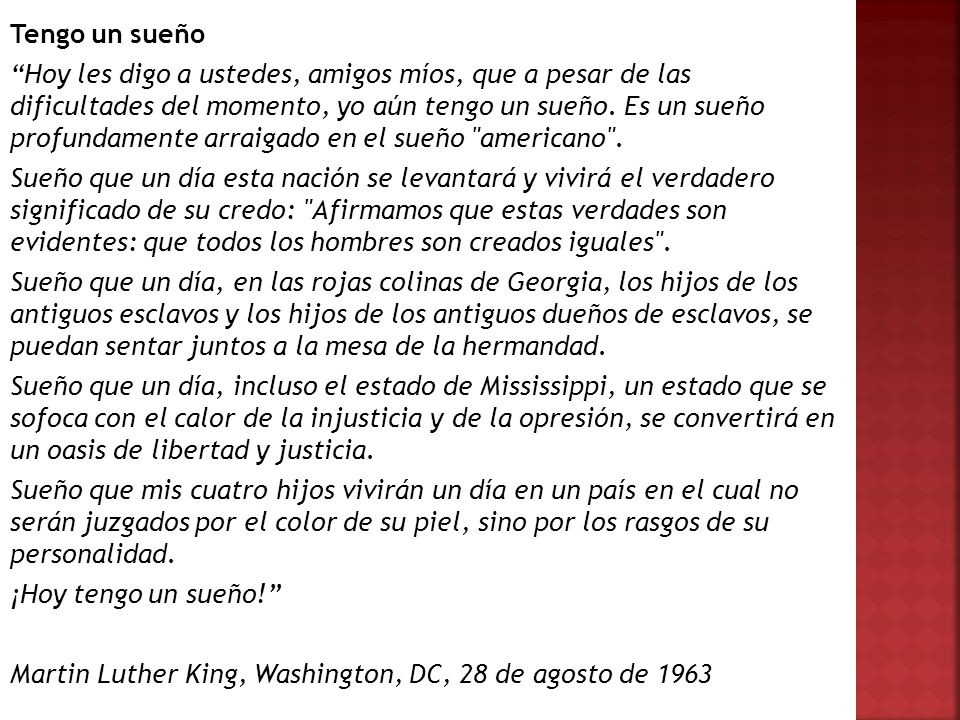 Martin Luther King, Washington, DC, 28 de agosto de 1963