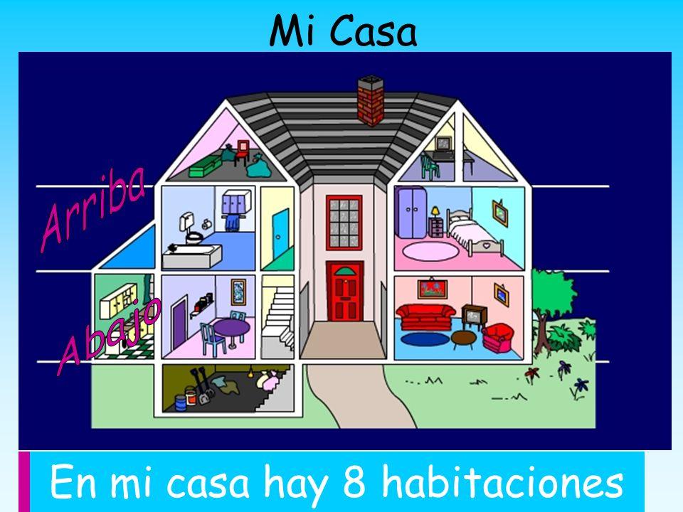 Cu ntas habitaciones hay en tu casa ppt descargar for Mi casa com