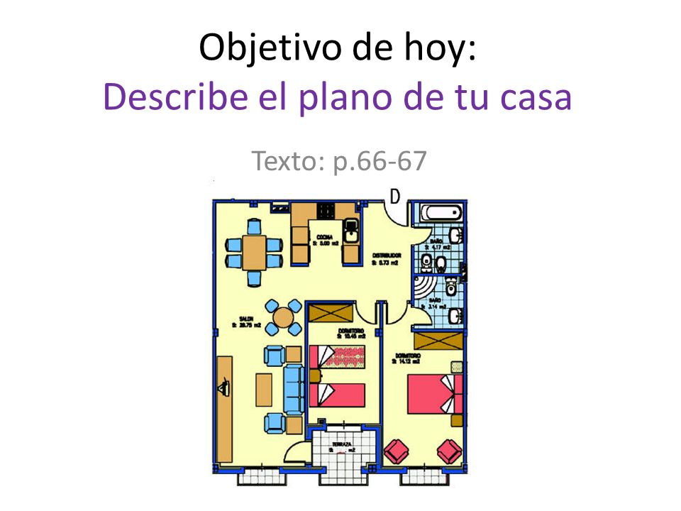 Objetivo De Hoy Describe El Plano De Tu Casa Ppt Descargar