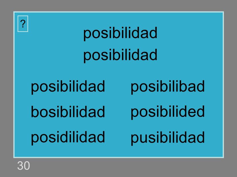 posibilidad posibilidad posibilidad posibilibad bosibilidad