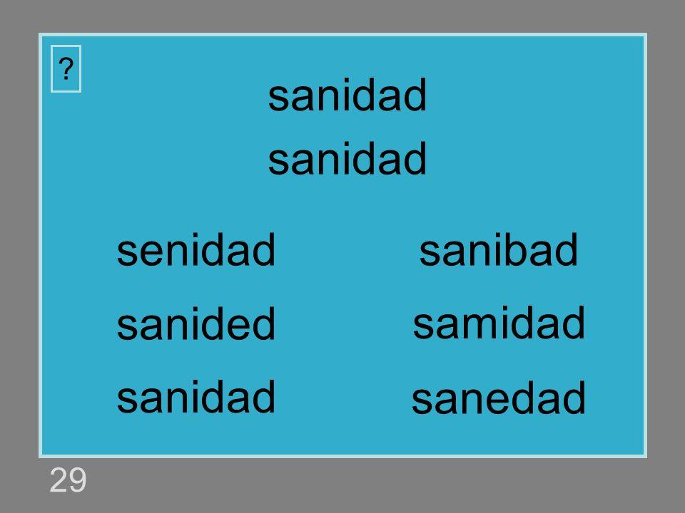 sanidad sanidad senidad sanibad sanided samidad sanidad sanedad 29