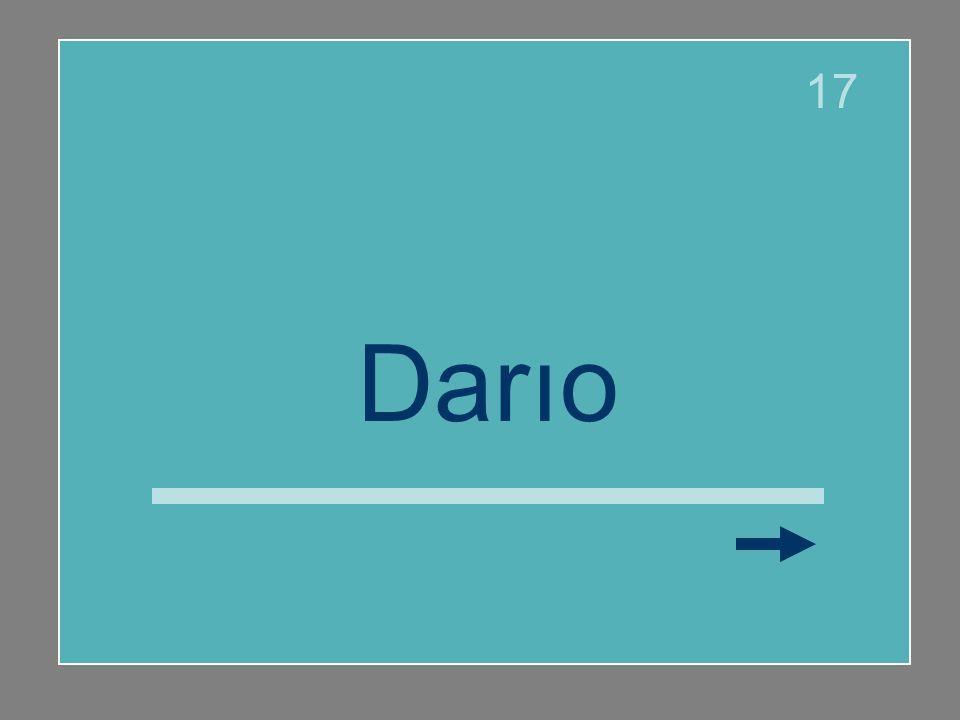 17 Darío