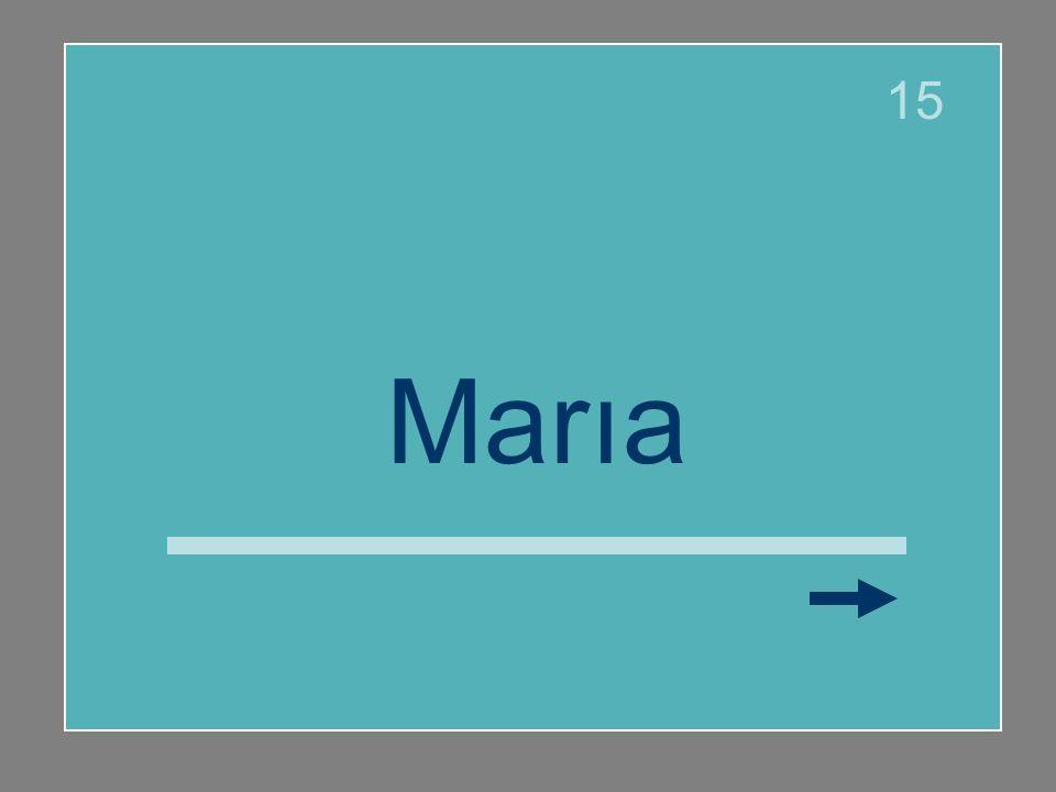 15 María