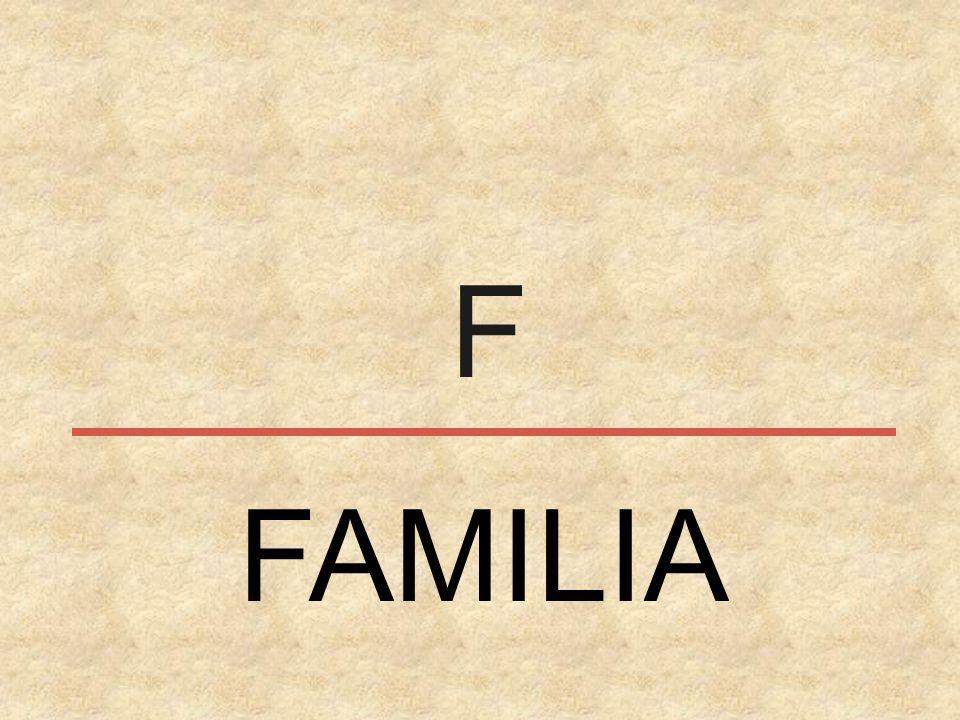 F FAMILIA