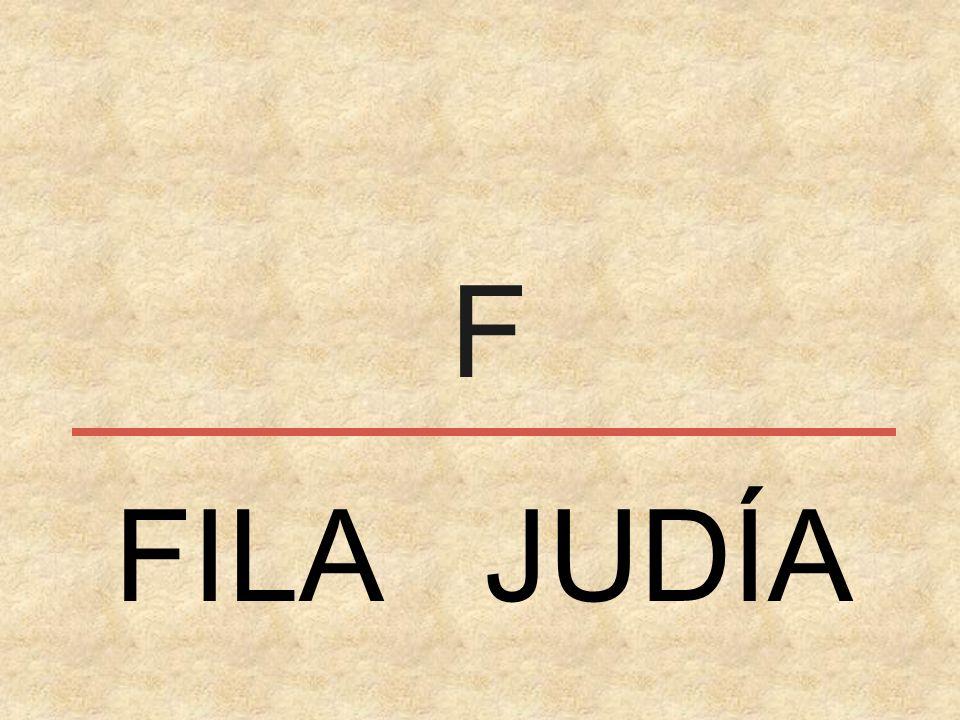 F FILA JUDÍA