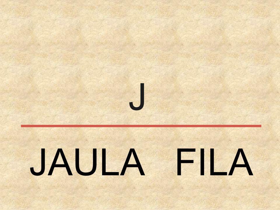 J JAULA FILA