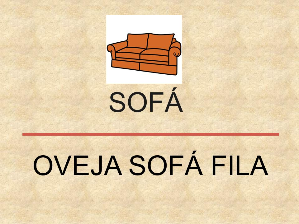 SOFÁ OVEJA SOFÁ FILA