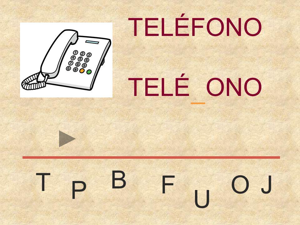 TELÉFONO TELÉFONO _ B T F O J P U