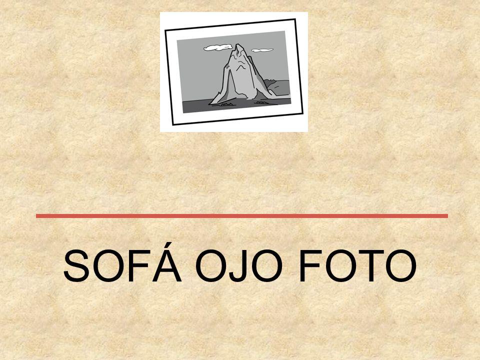 SOFÁ OJO FOTO