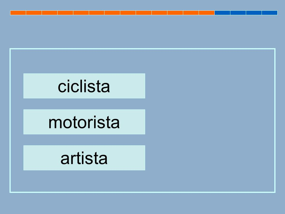 ciclista motorista artista