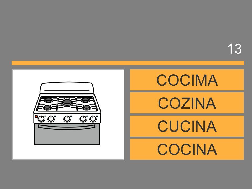 13 COCIMA COZINA CUCINA COCINA
