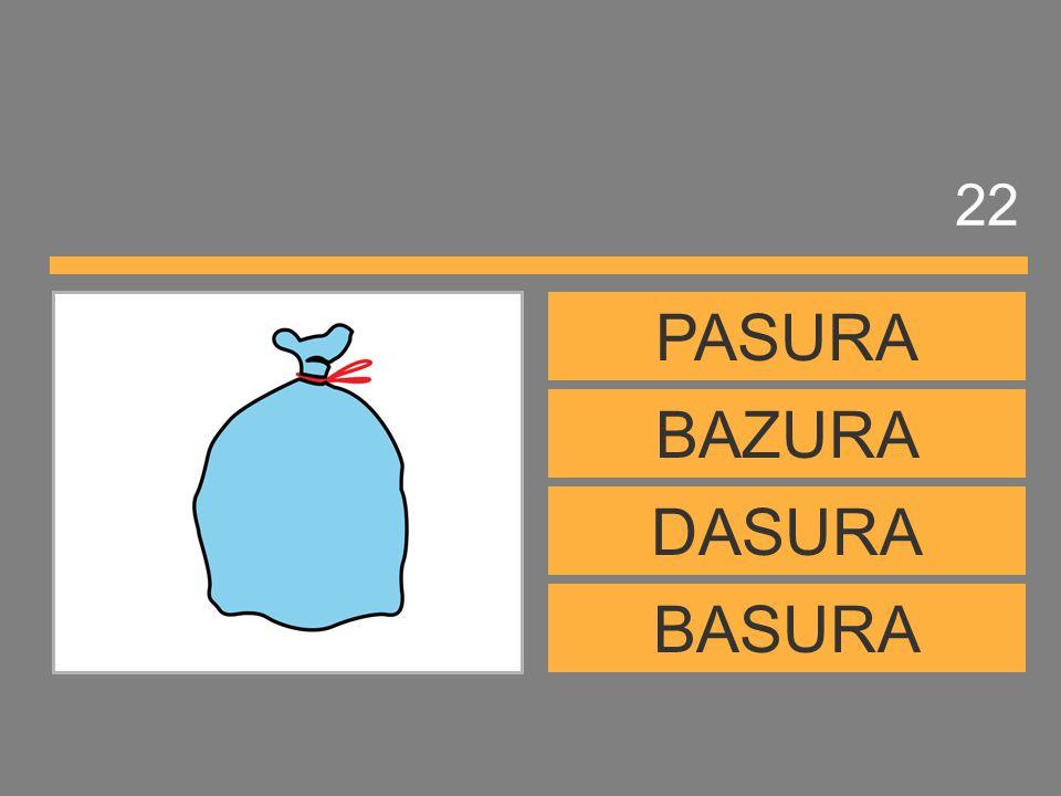 22 PASURA BAZURA DASURA BASURA