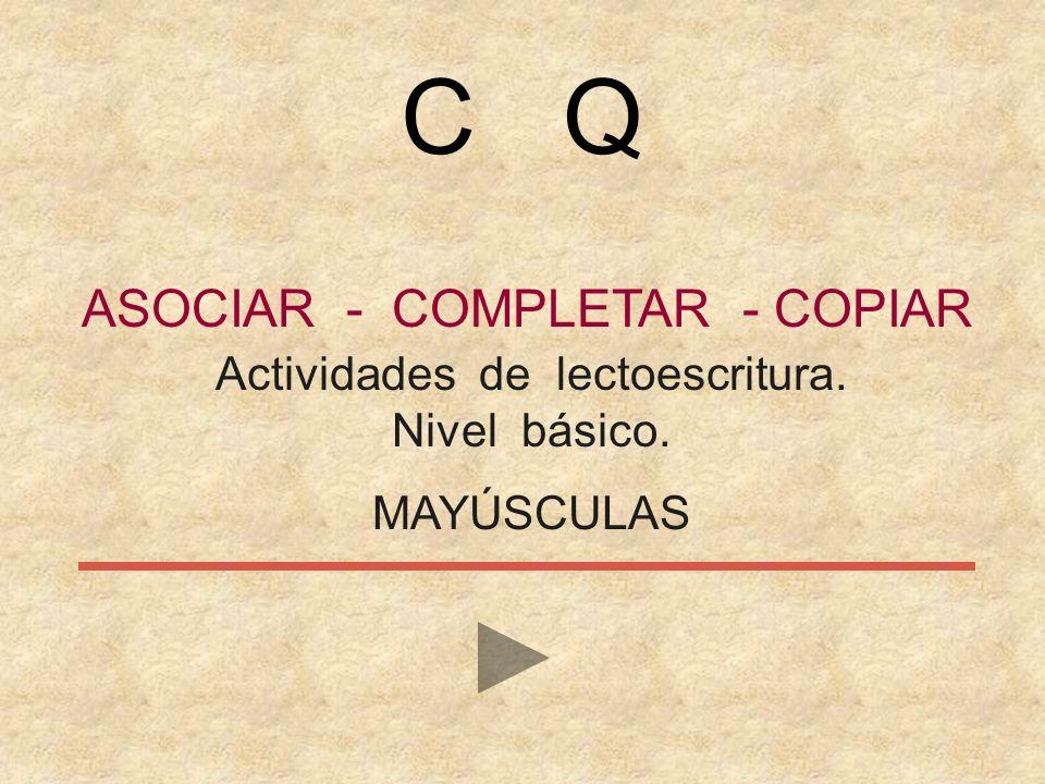 C Q ASOCIAR - COMPLETAR - COPIAR