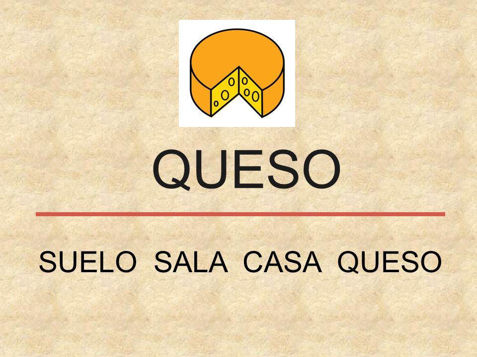 QUESO SUELO SALA CASA QUESO