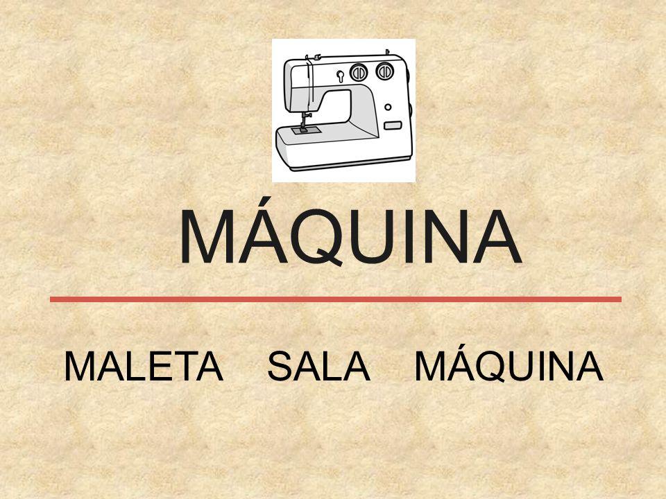 MÁQUINA MALETA SALA MÁQUINA