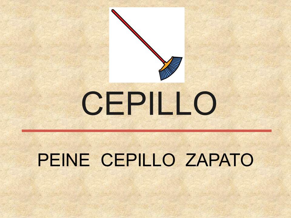 CEPILLO PEINE CEPILLO ZAPATO