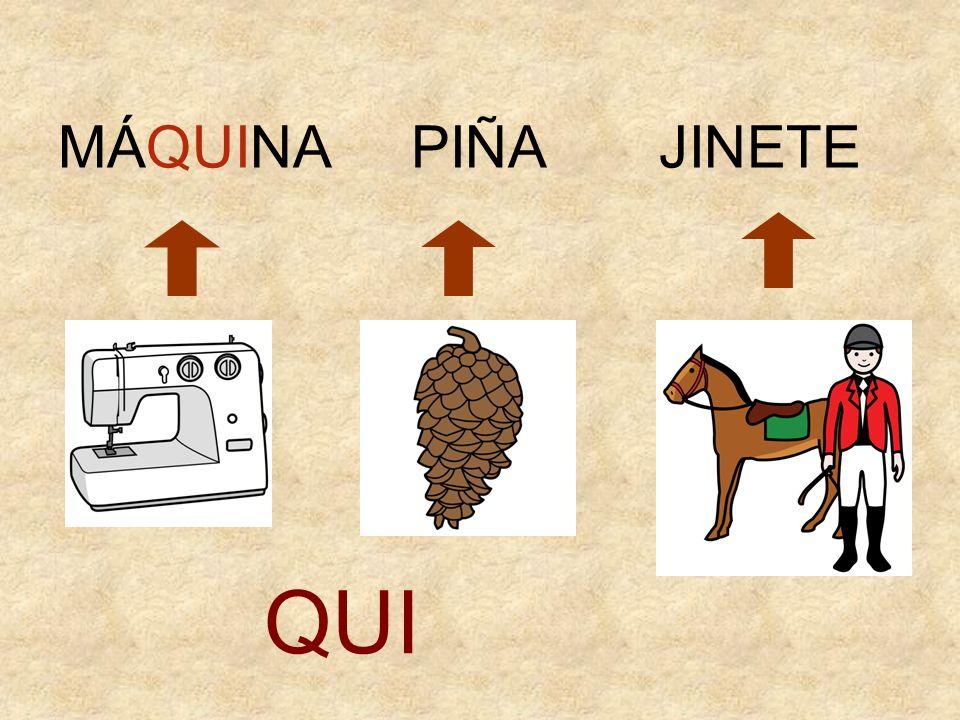 MÁQUINA PIÑA JINETE QUI