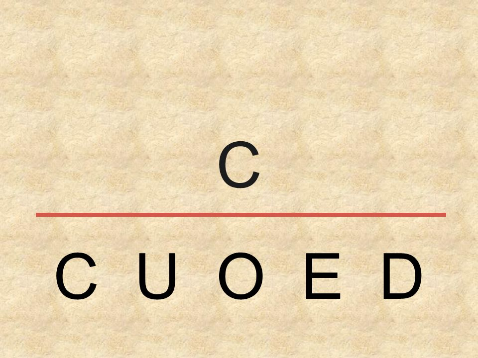 C C U O E D