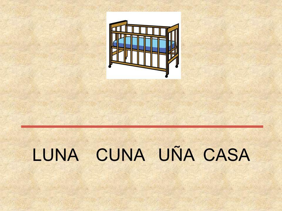LUNA CUNA UÑA CASA