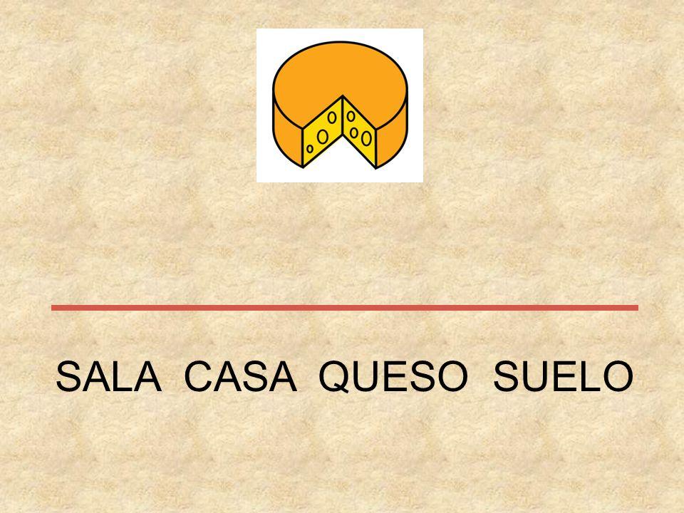 SALA CASA QUESO SUELO