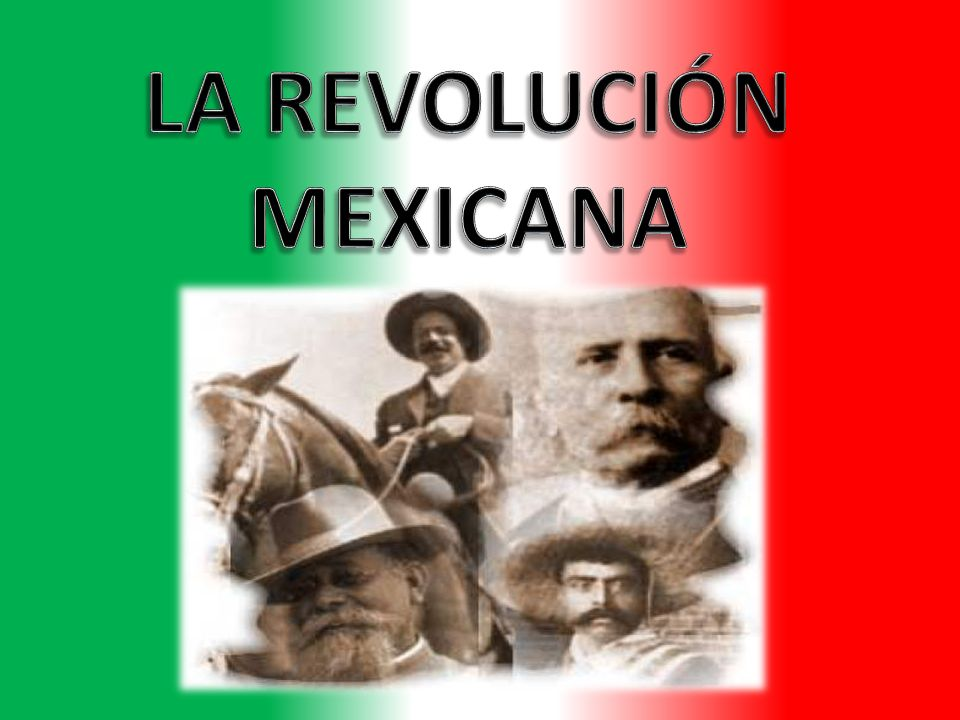 personajes de la revolucion mexicana pdf