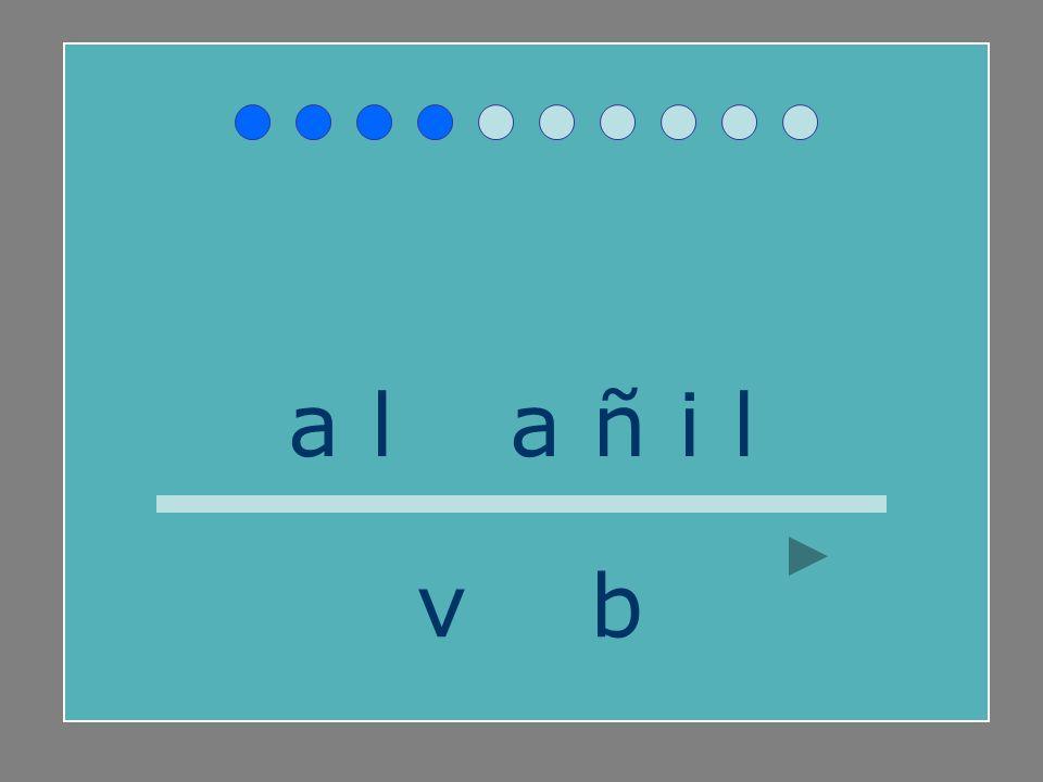 a l b a ñ i l v b