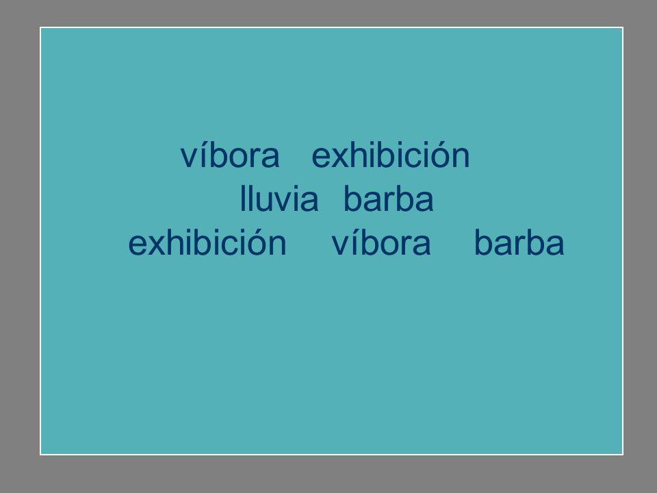 exhibición víbora barba